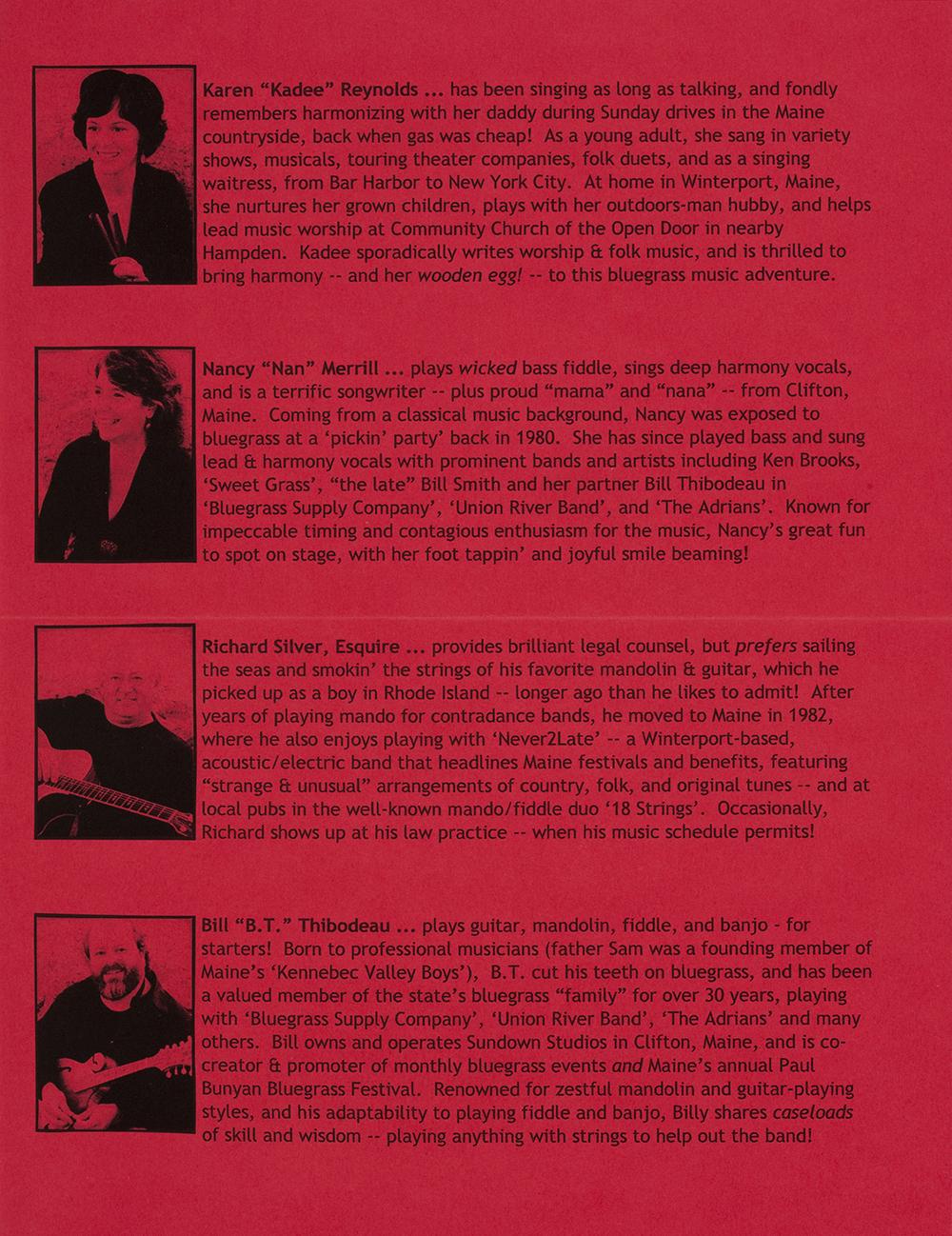 BIOG-0993, Anna Mae Mitchell & Rising Tide, 2008