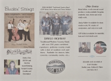 BIOG-0294, Blinhill Productions, The Gelina Family, Breakin Strings, Dirigo Highway