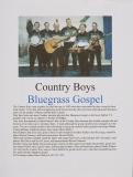 BIOG-0296, County Boys Bluegrass Gospel