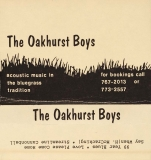 CAS-0347, The Oakhurst Boys, Acoustic Music In The Bluegrass Tradition