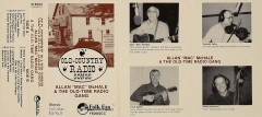 CAS-0350, Allan Mac McHale & The Old-Time Radio Gang, Old-Country Radio Shows