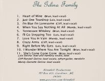 CD-0305, The Gelina Family
