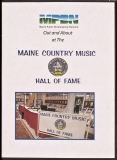 DVD-4102, Maine Country Music Hall Of Fame, 2015, DVD Cover