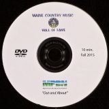 DVD-4104, Maine Country Music Hall Of Fame, 2015, DVD