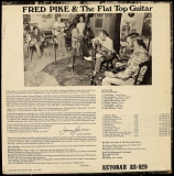 LP-0330, Fred Pike & The Flat Top Guitar, back side