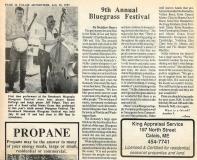 NEWS-0001, Breakneck Mountain Bluegrass Festival, 1993