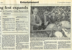 NEWS-0004, Farmington Festival Article