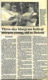 NEWS-0014, Detroit Article With Back to Basics, Bangor Daily News, 6-11-2001