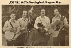 NEWS-0378, Joe Val & The New England Bluegrass Boys