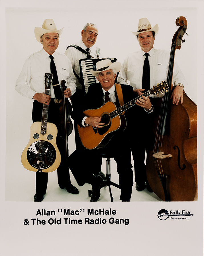 PHOT-1732, Allan Mac McHale & The Old Time Radio Gang