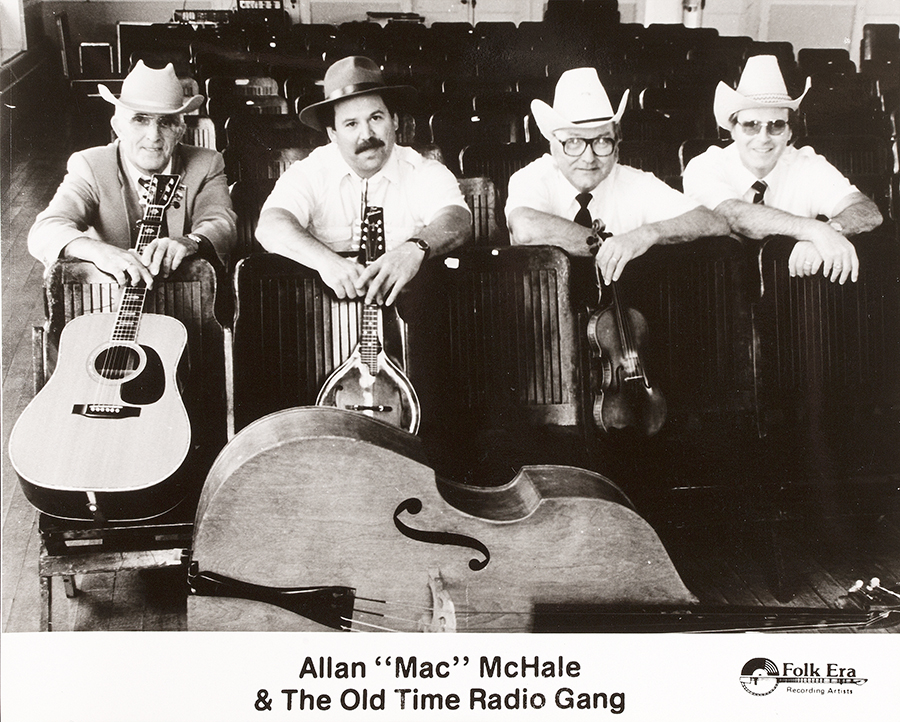 PHOT-1739, Allan Mac McHale & The Old Time Radio Gang
