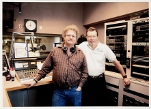 PHOT-1740, Lee Michael Demsey and Darwin Davidson at WAMU Broadcast Studio
