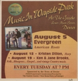 POST-0026, Music In Wayside Park