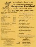 POST-0027, White's Beach & Campground Bluegrass Festival, 2007