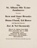 POST-0032, The St Albans Ole Tyme Jamboree, 2008