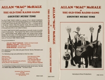 VHS-0367, Allan Mac McHale & The Old Time Radio Gang, Country Music Time